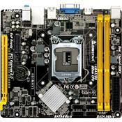 Socket: LGA1150, чипсет Intel H81, память DDR3 - слотов 2, форм-фактор mATX, упаковка RTL