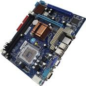 Socket: LGA775, чипсет Intel G31, память DDR2 - слотов 2, форм-фактор mATX, упаковка OEM