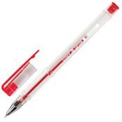 тип ручки: Гелевая, цвет письма: красный, механизм: Колпачок